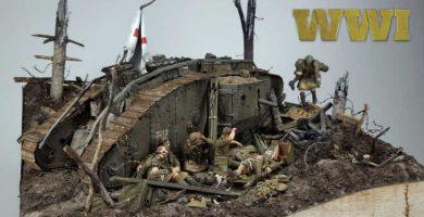 Maquetas de la Primera Guerra Mundial